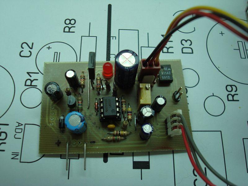 Circuito Electronico : Control de temperatura electronico